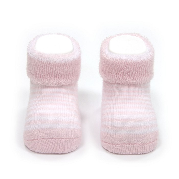Calcetines Listados Rosa Cambrass