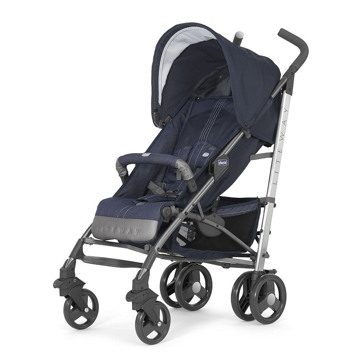 Silla de Paseo Lite Way 2 Denim Chicco 0M+