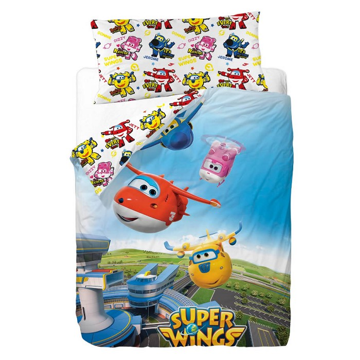 Funda Nórdica Super Wings Friends