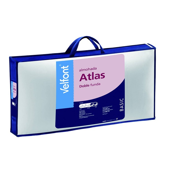 Almohada Atlas Doble Funda Velfont