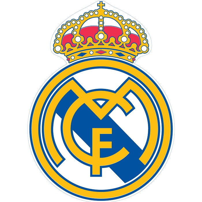 Toalla Playa con forma Escudo Real Madrid