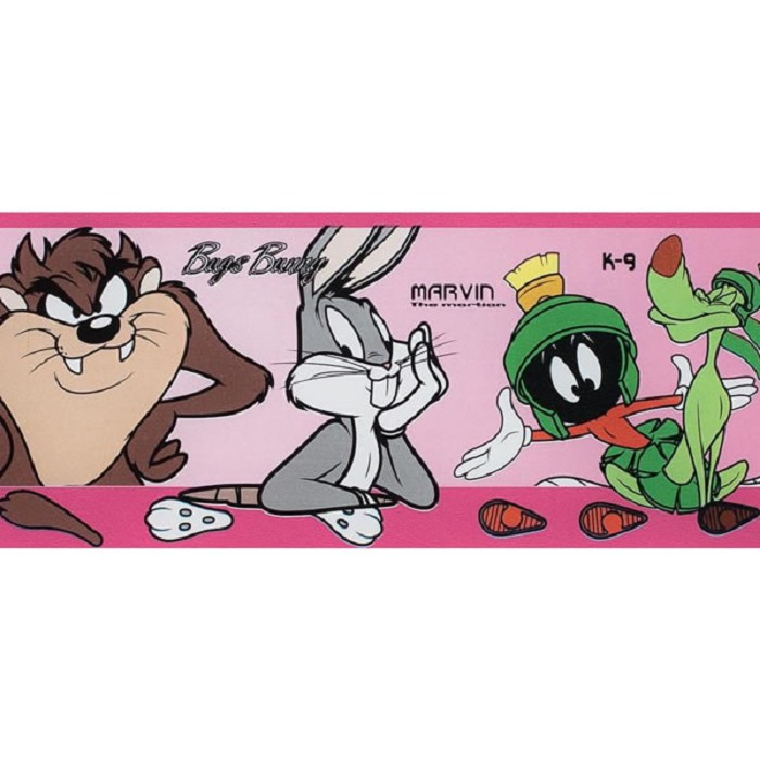 Cenefas Footprints Looney Tunes