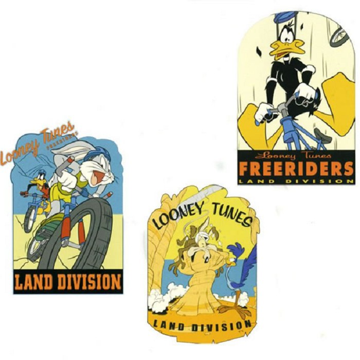 Adhesivos Freeriders Looney Tunes