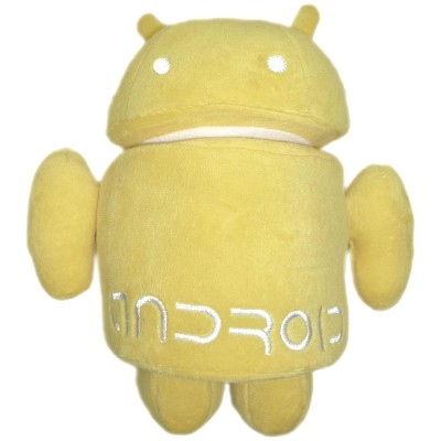 Peluche Android Amarillo en Donurmy