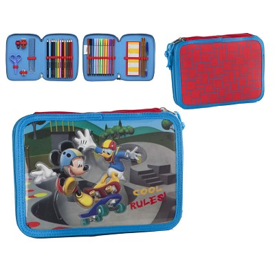 Estuche Escolar Doble Mickey Mouse 27511 Disney en Donurmy