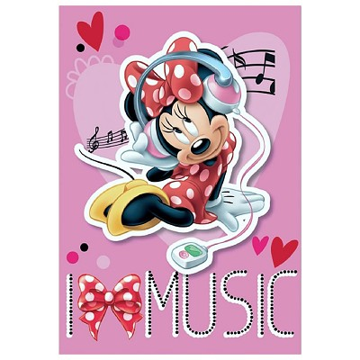 Alfombra Minnie Music Disney en Donurmy