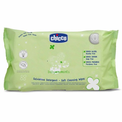 Toallitas Baby Moments Chicco Pack 16 unidades en Donurmy