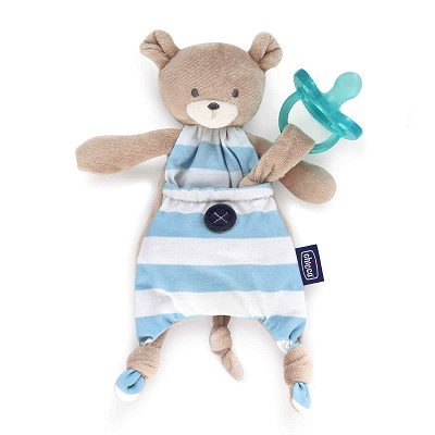 Portachupetes Pocket Friend Azul Chicco 0M+ en Donurmy