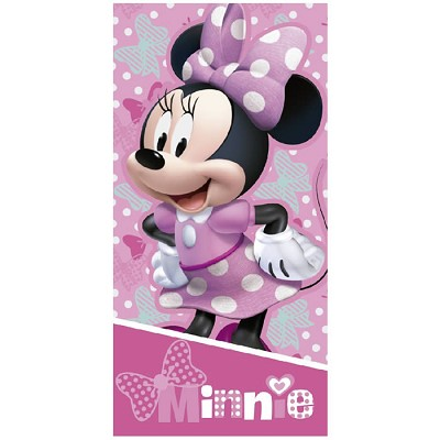 Toalla Playa Minnie Mouse Smile en Donurmy