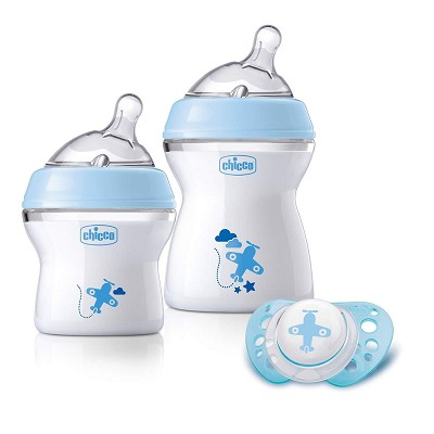 Set Regalo Natural Feeling Azul Chicco 0M+ en Donurmy