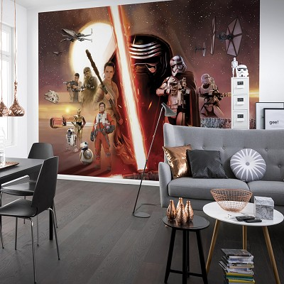 Mural Ep7 collage Star Wars en Donurmy