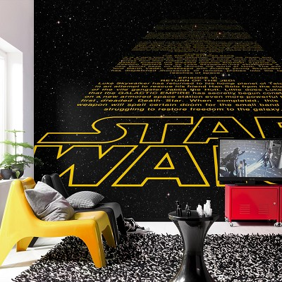 Mural Intro Star Wars en Donurmy