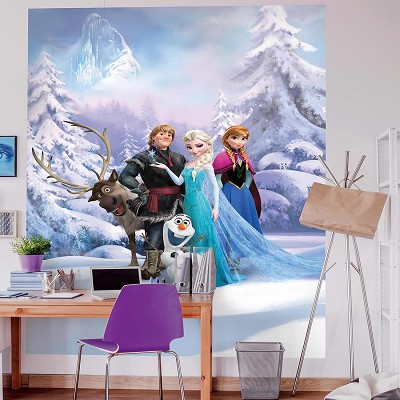 Mural Winter land Frozen en Donurmy