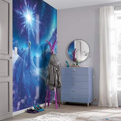 Mural Snow Queen Frozen en Donurmy