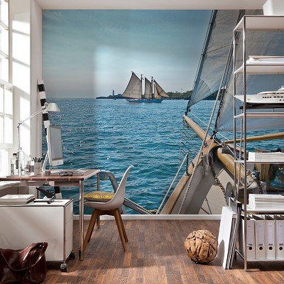 Mural Sailing National Geographic en Donurmy