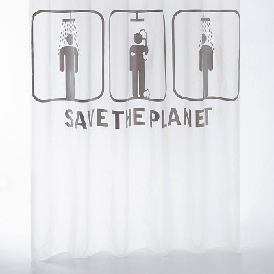 Cortina Baño Save the Planet Sorema en Donurmy