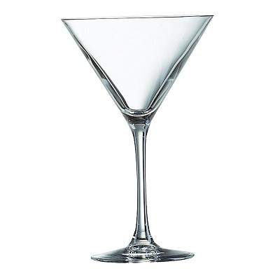 Copas martini Cristal Cocktail Bar 12 piezas Luminarc en Donurmy