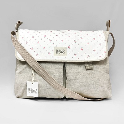 Bolso Cambiador Flower Bloom Babyshower en Donurmy