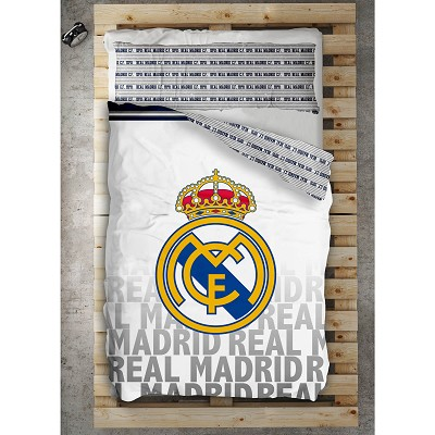 Funda Nórdica Emblema Real Madrid en Donurmy