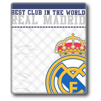 Plaid Emblema Real Madrid en Donurmy