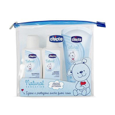 Kit de Viaje Natural Sensation Chicco en Donurmy