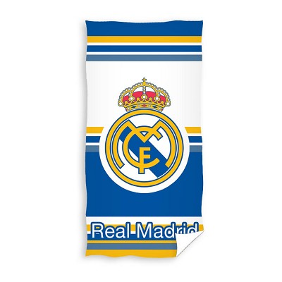 Toalla Playa Bicolor Escudo Real Madrid en Donurmy