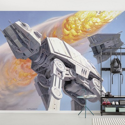 Mural Star Wars Classic RMQ Hoth Battle AT-AT en Donurmy