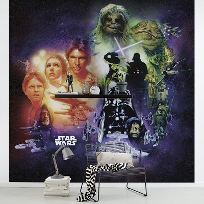 Mural Star Wars Classic Poster Collage en Donurmy