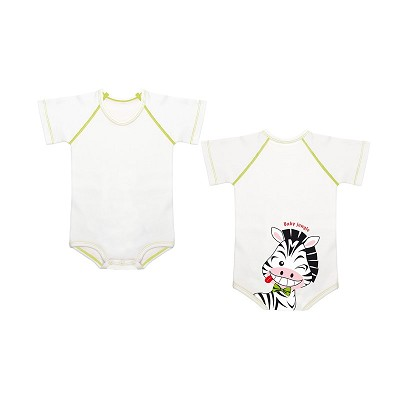 Body Baby Jungle Cebra Cotton 4 Season JBimbi en Donurmy