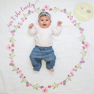 Muselina Baby First Year Isn´t She Lovely Lulujo en Donurmy